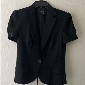 Zara Short Pinstripe Jacket